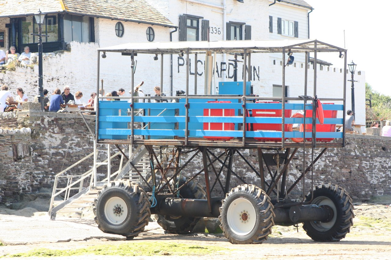 Bigbury's Sea Tractor