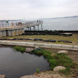 Salt Water Retention Pond