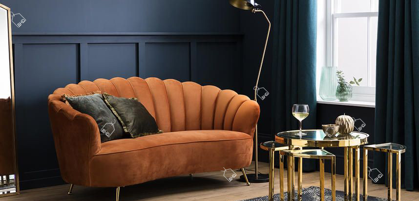 How to create a decadent Art Deco inspired Living Room (with a Botanical twist!)