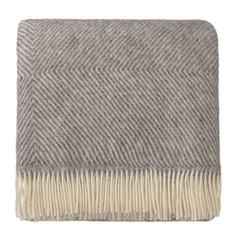 Herringbone Blanket/Throw - 100% Scandinavian Wool - 220x260 cm