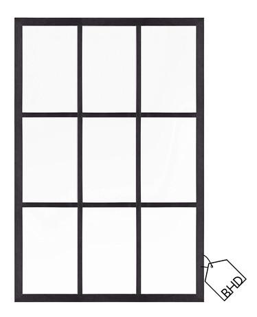 "Solid Wood ""Window"" Wall Mirror   120x80cm"