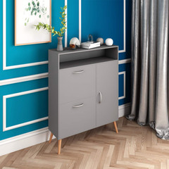 Grey Cabinet Storage Sideboard
