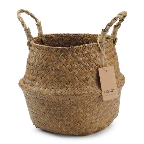 Foldable Storage Basket with Handles 22 x 20 cm