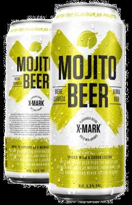 Cerveja X-Mark Mojito (Pack c/12 latas de 500ml)