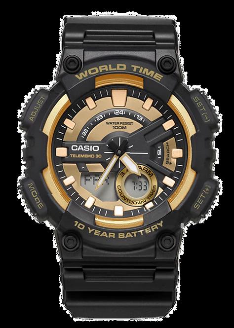 Relógio Casio Masculino AEQ-110BW-9A