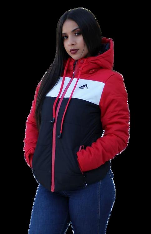 Jaqueta Feminina Sport c/ fone de ouvido incorporado AD-01