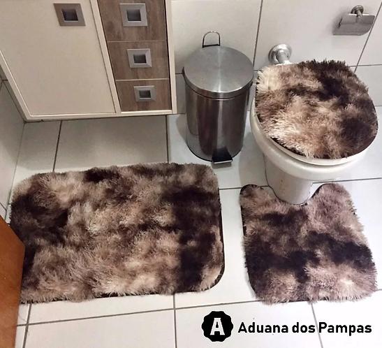Kit Tapetes para Banheiro (3 pç)