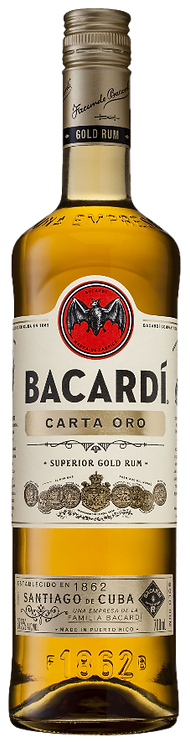 Rum Bacardi Carta Oro 750ml