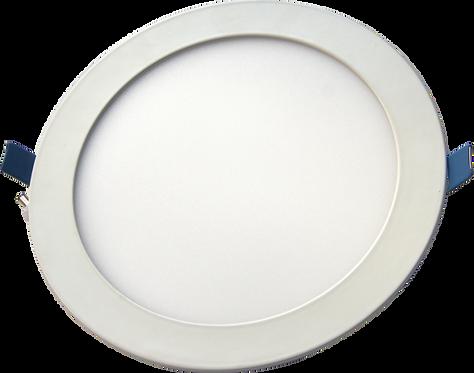 Lâmpada LED de embutir 12W Redondo