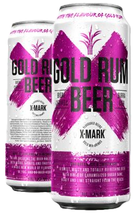 Cerveja X-Mark Gold Run (Pack c/12 latas de 500ml)