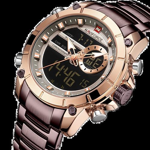 Relógio Masculino Naviforce 9163 Resistente a água