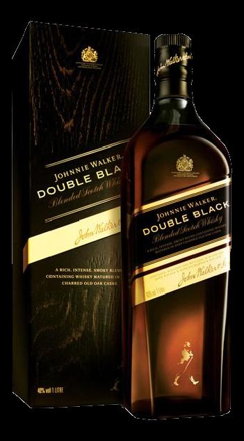 Whisky Johnnye Walker Double Black - 1000ml (Cx c/12)