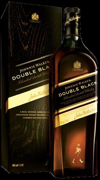 Whisky Johnnye Walker Double Black - 1000ml