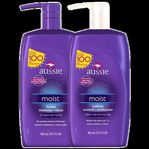 Shampoo + Condicionador Aussie Moist (2x865gr)