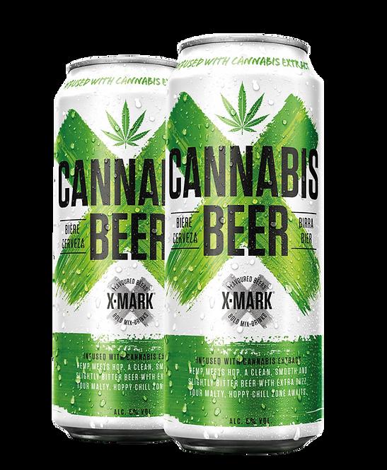 Cerveja X-Mark Cannabis (Pack c/12 latas de 500ml)