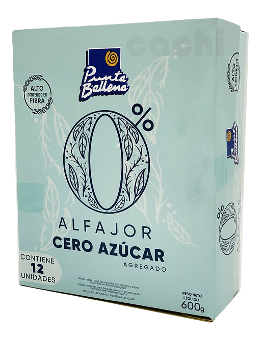 Alfajor Triple Punta Ballena Zero Açucar