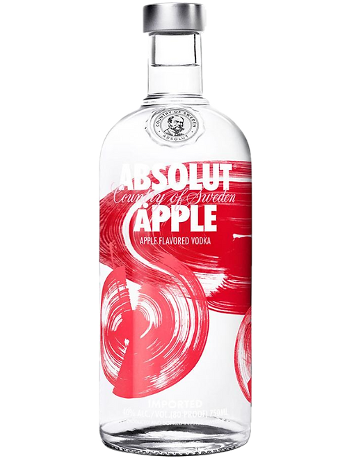 Vodka Absolut Apple 1000m