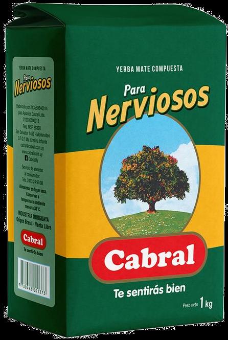 Erva Mate Uruguaya Cabral para nervosos