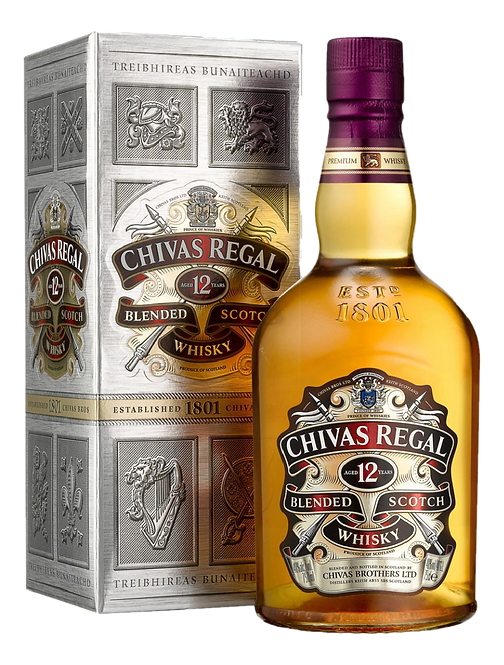 Whisky Chivas Regal 12 anos - 1000ml