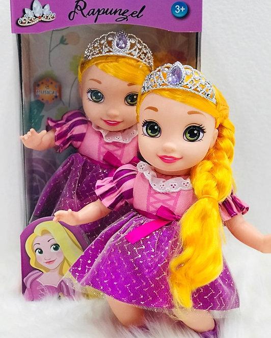 Boneca Rapunzel - Olhos de Cristal 35CM
