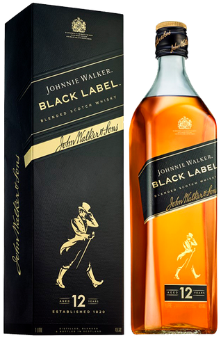 Whisky Johnnie Walker Black Label 12 Anos 1 Litro