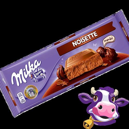Milka Noisette - Chocolate com creme de avelã