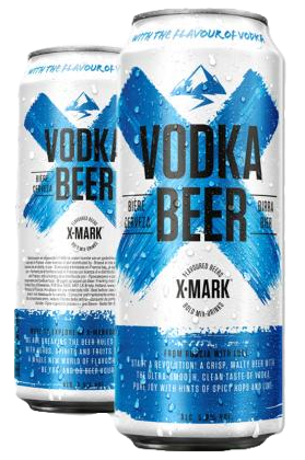 Cerveja X-Mark Vodka (Pack c/12 latas de 500ml)