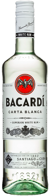 Rum Bacardi Carta Blanca 750ml
