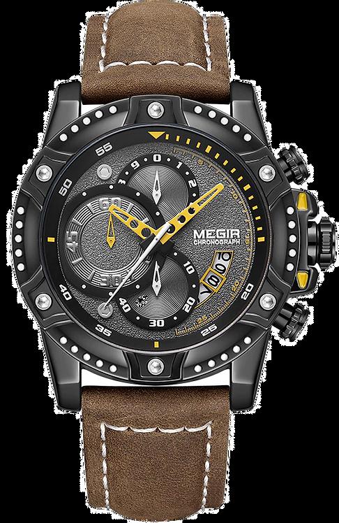Relógio Masculino Megir 2130 a prova d'água