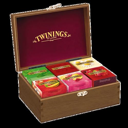 Caixa de Chás Twinings com 60 sachês