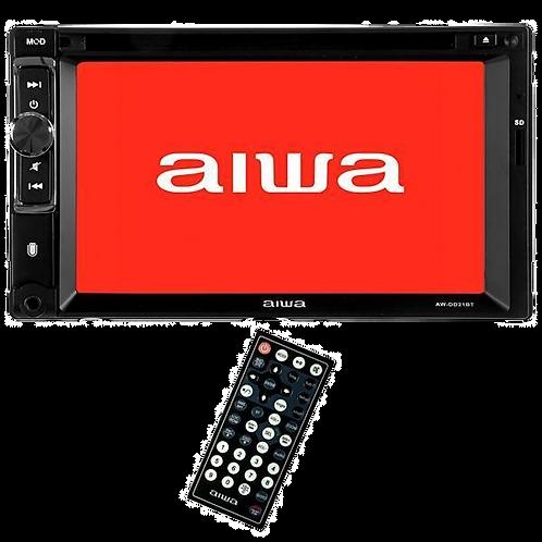 """Reprodutor de DVD Automotivo Aiwa AW-DD21BT de 6.2"""" com Bluetooth/USB - Preto"""
