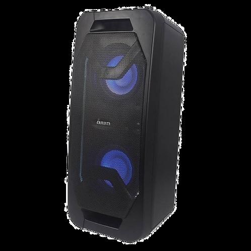 Caixa de Som Karaoke Aiwa AW-POK6 USB / Bluetooth / Aux / Microfone