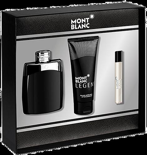 Kit Montblanc Legend – 1 Perfume + 1 Creme Pós Barba 10ml + Miniatura