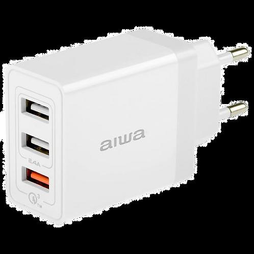 Carregador Rápido Aiwa AWP2232QW Quick Charge 3.0 Bivolt