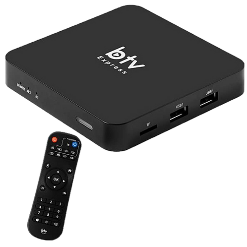 Receptor BTV Express HD IPTV