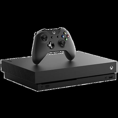 Console Xbox One X de 1TB Microsoft Bivolt - Preto