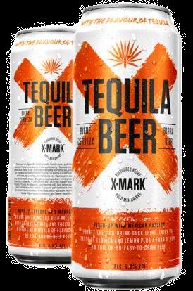 Cerveja X-Mark Tequila (Pack c/12 latas de 500ml)