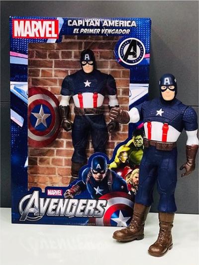Boneco Capitão América - Marvel 38cm