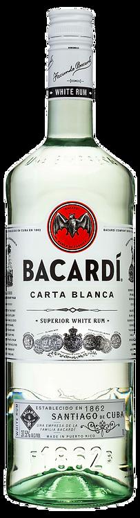Rum Bacardi Superior Carta Blanca - 3 litros