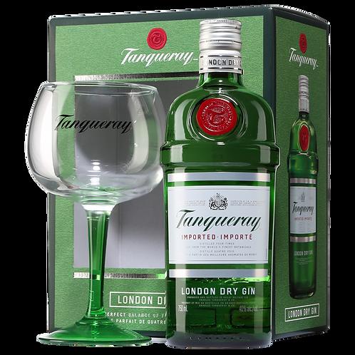 Kit Gin Tanqueray London c/ taça