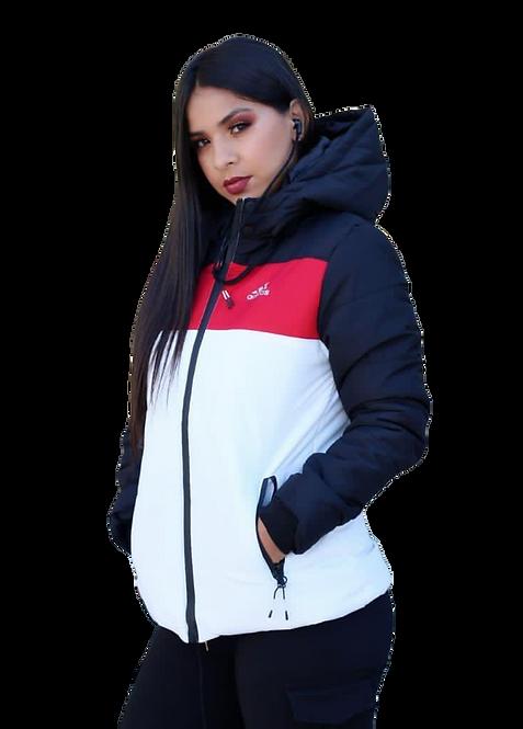 Jaqueta Feminina Sport c/ fone de ouvido incorporado AD-04