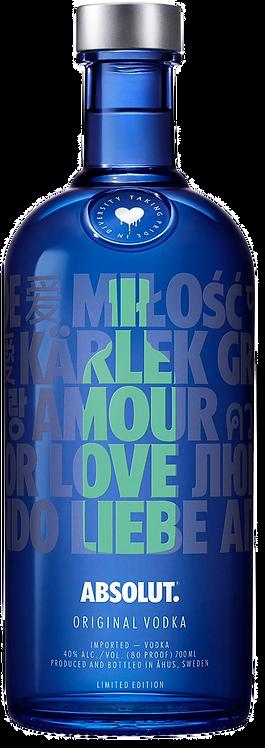 "Vodka Absolut ""A Drop of Love"" Verde"