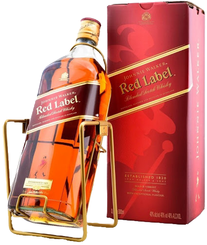 Whisky Johnnie Walker Red Label 3 litros