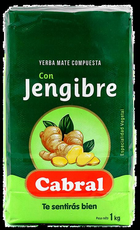 Erva Mate Uruguaya Cabral com Gengibre