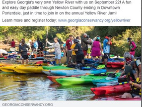 YR Jam Morning Paddle with Georgia Conservancy