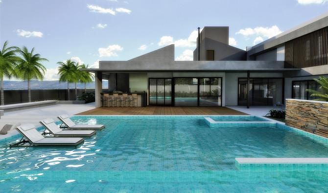 Aspectos relevantes na construção de piscinas: obra e revestimentos.