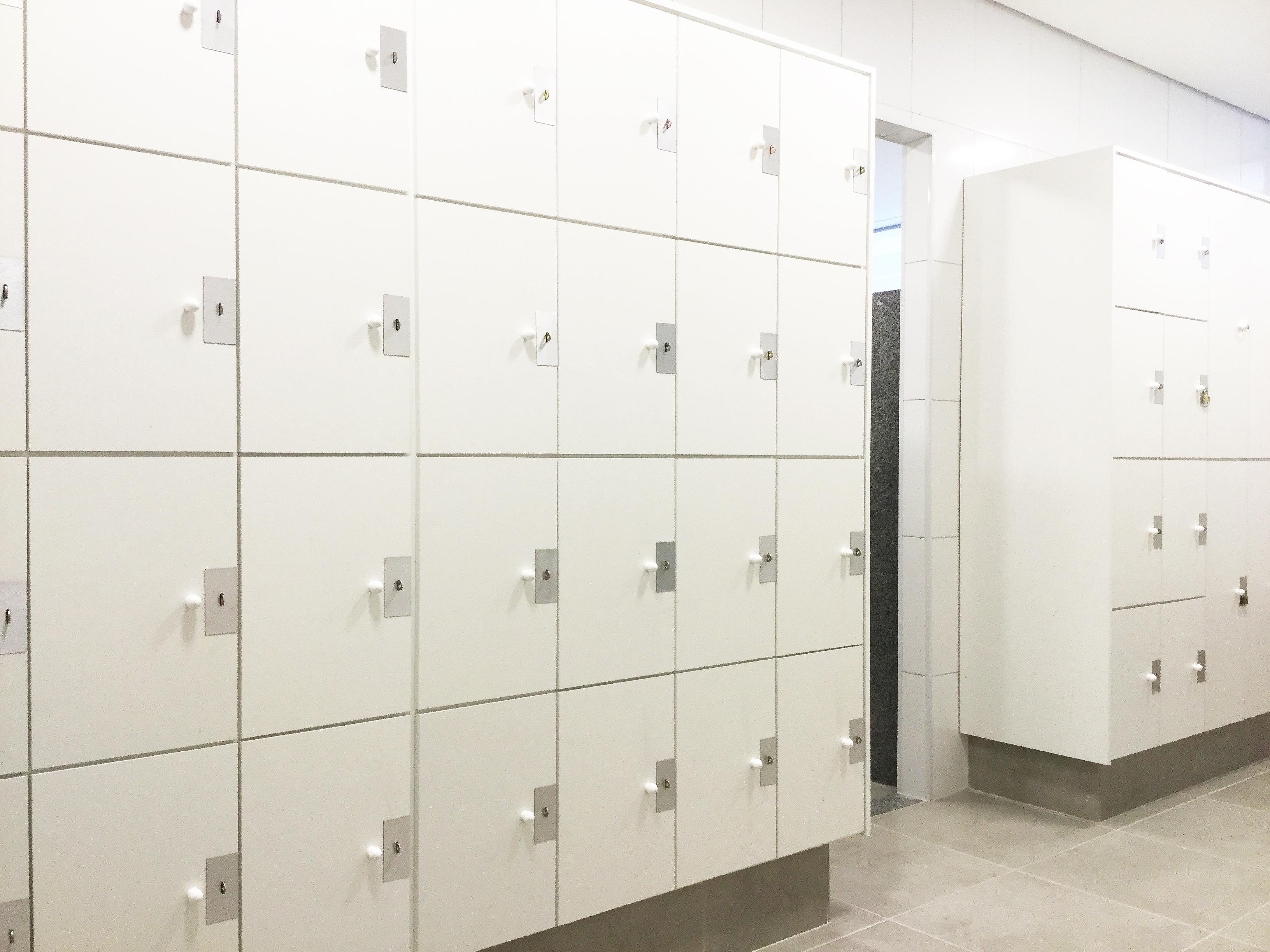 Lockers sob medida