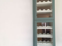 Bespoke Kitchen Wine Storage