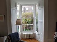 Victorian Panel Moulded Shutters in Belfast
