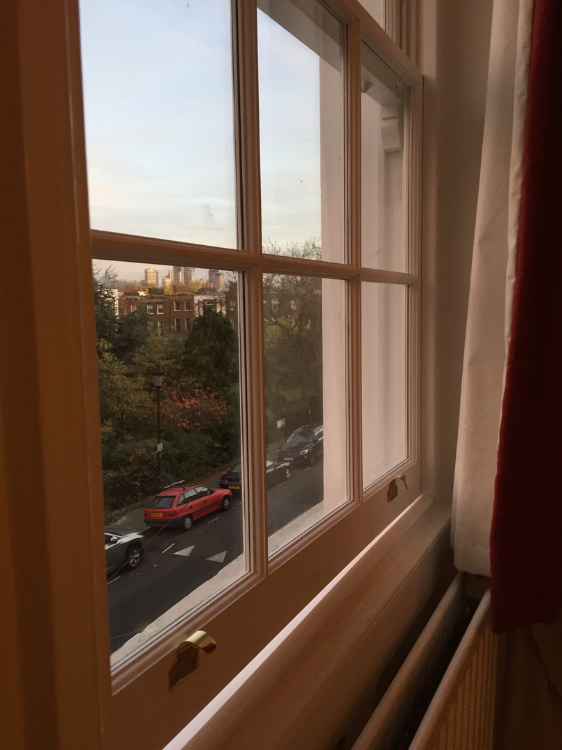 Slimline Sash Windows Gibson Square N1.J